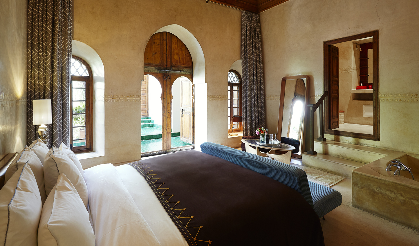 Settle into your spacious Riad