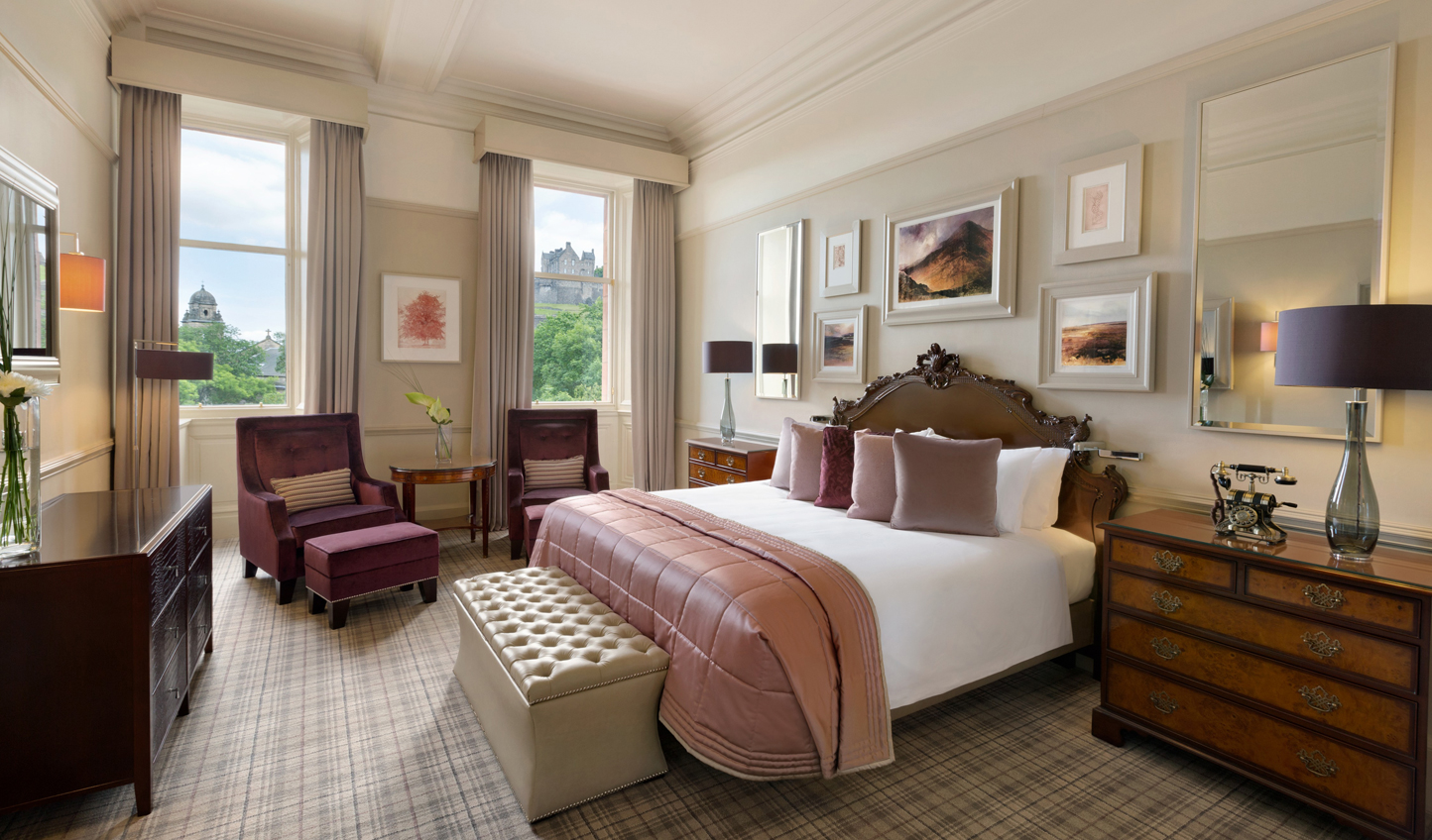 Get a taste of history in modern luxury with a stay in the Alexander Graham Bell Suite