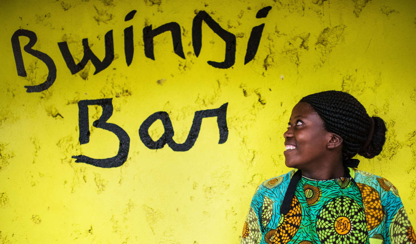 Grab a drink with the locals down at Bwindi Bar