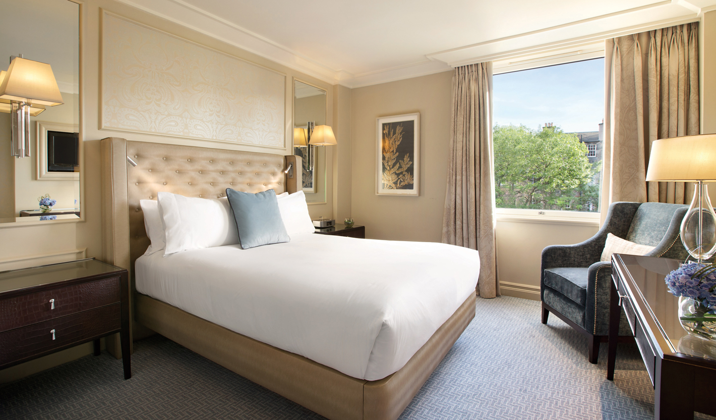 Classic and elegant, The Caledonian makes for a luxurious stay in Edinburgh