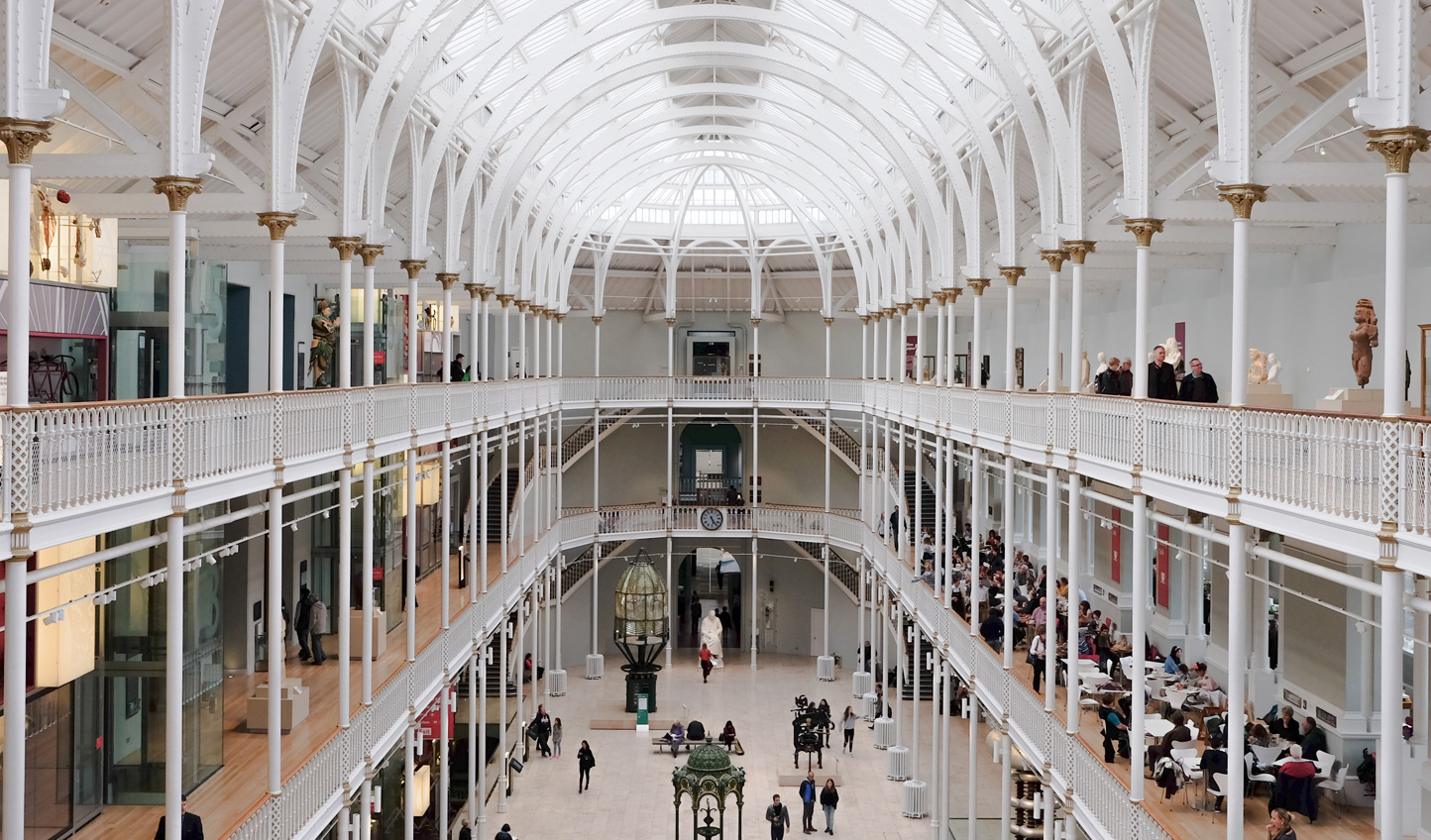 Swing by Edinburgh's fascinating museums
