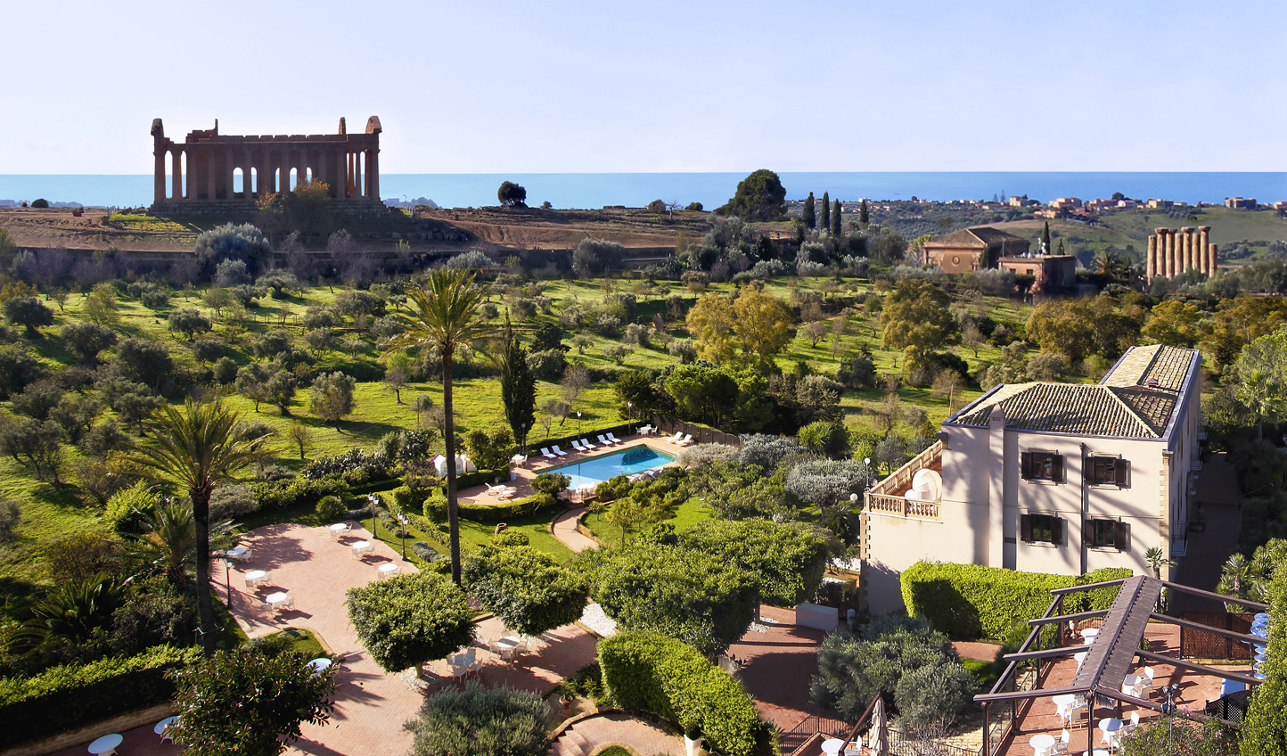 Check into Sicily's most exclusively located hotel
