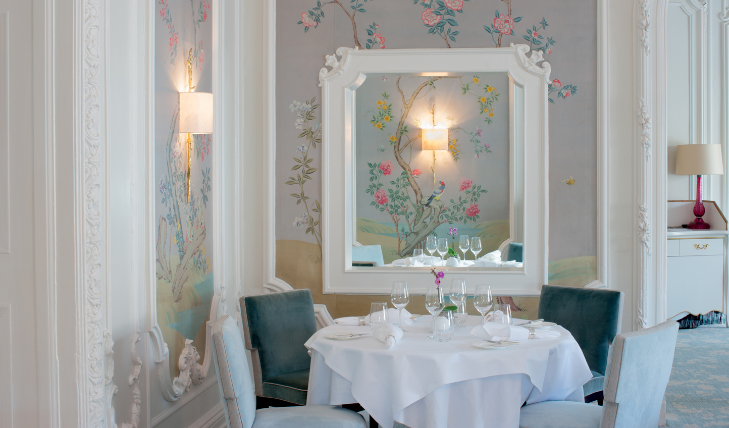 Dine at Pompadour and experience all the glamour of Versailles in the heart of Edinburgh