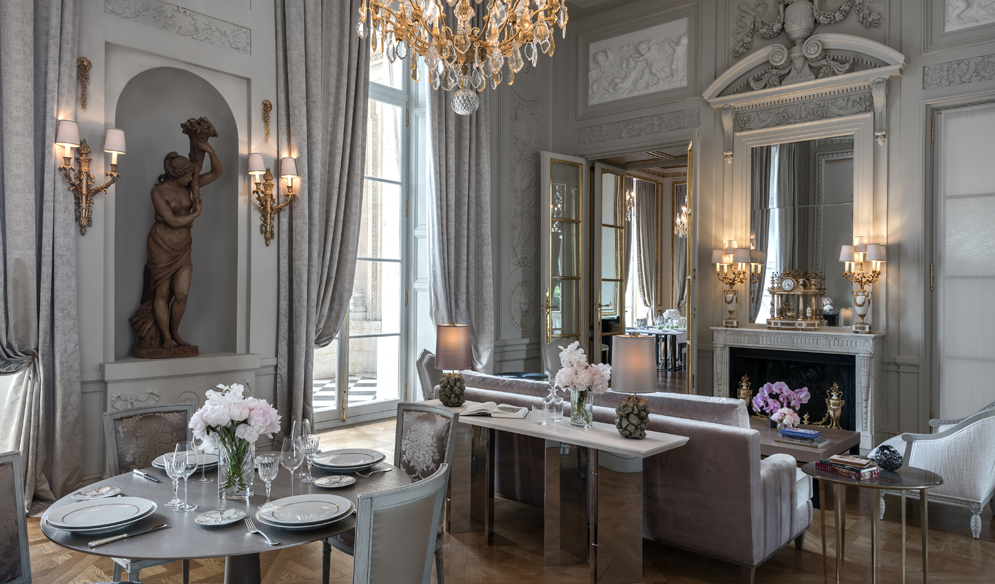 Undisputed elegance in Salon Marie Antoniette