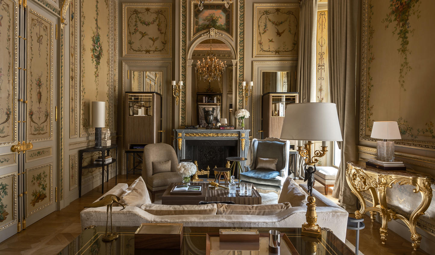 Revel in Parisian grandeur in Suite Duc de Crillon