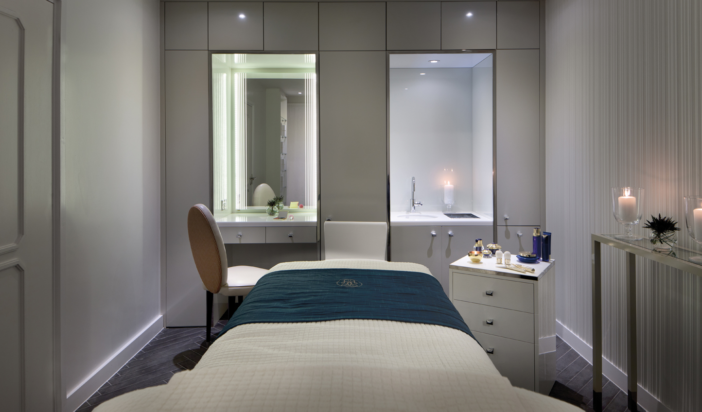 Soothe weary muscles in the Guerlain Spa