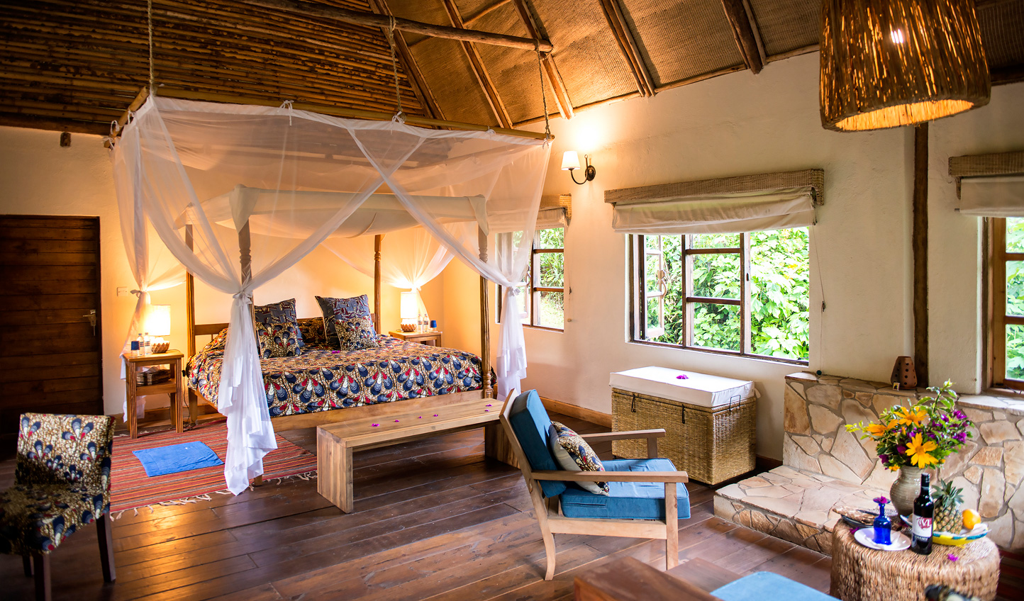Stylish bandas that are authentically African but with all the modern amenities