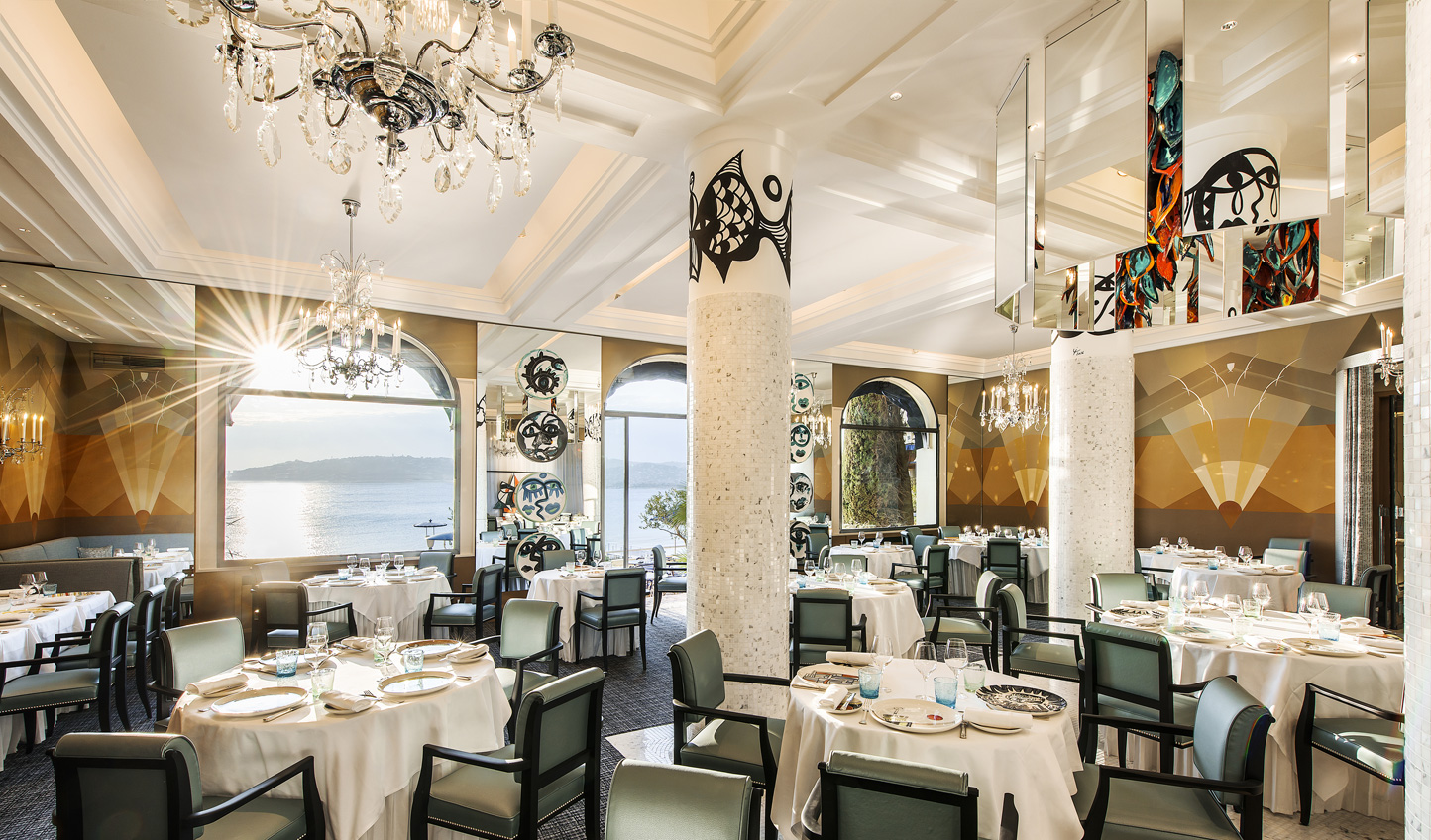 Dine on Michelin-starred cuisine over dreamy views