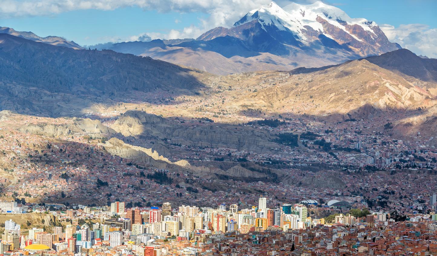 Sky high in La Paz