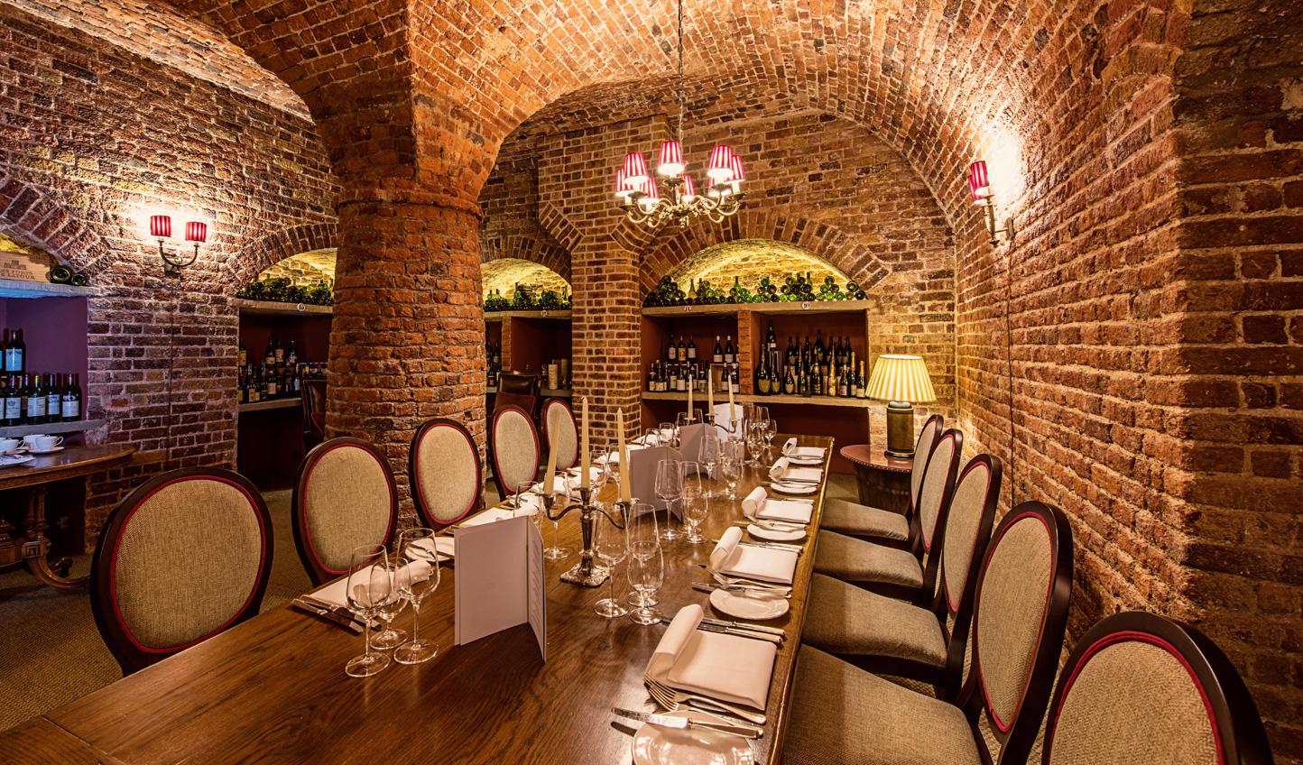 A more romantic dinner setting