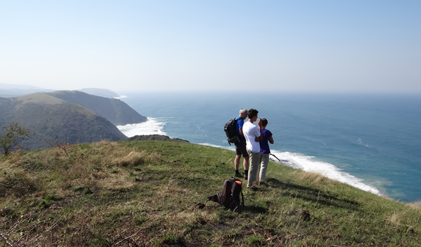 The most spectacular coastal scenery in northern Pondoland