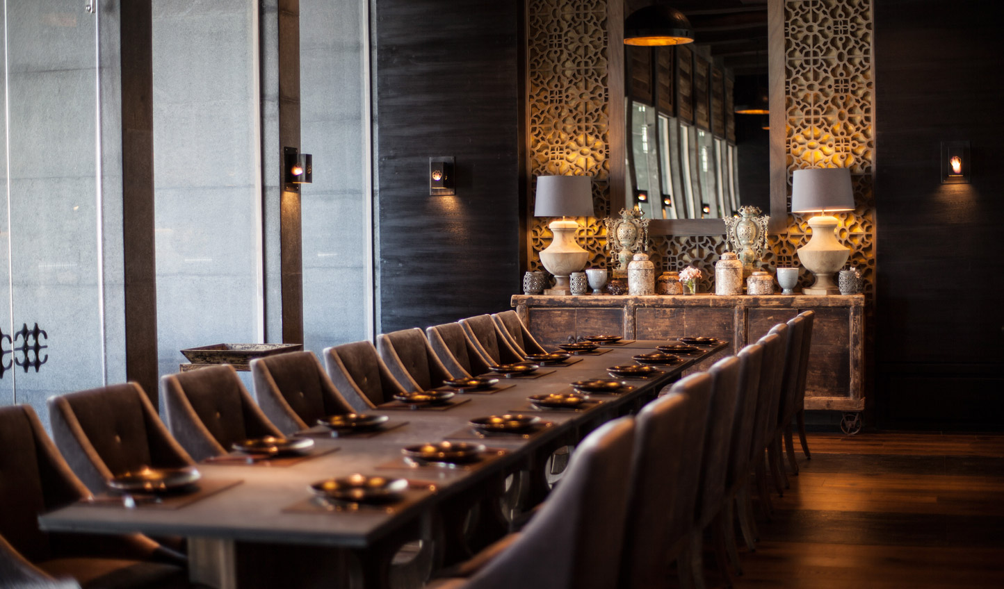 Indochine- one of NIZUC's six world-class restaurants