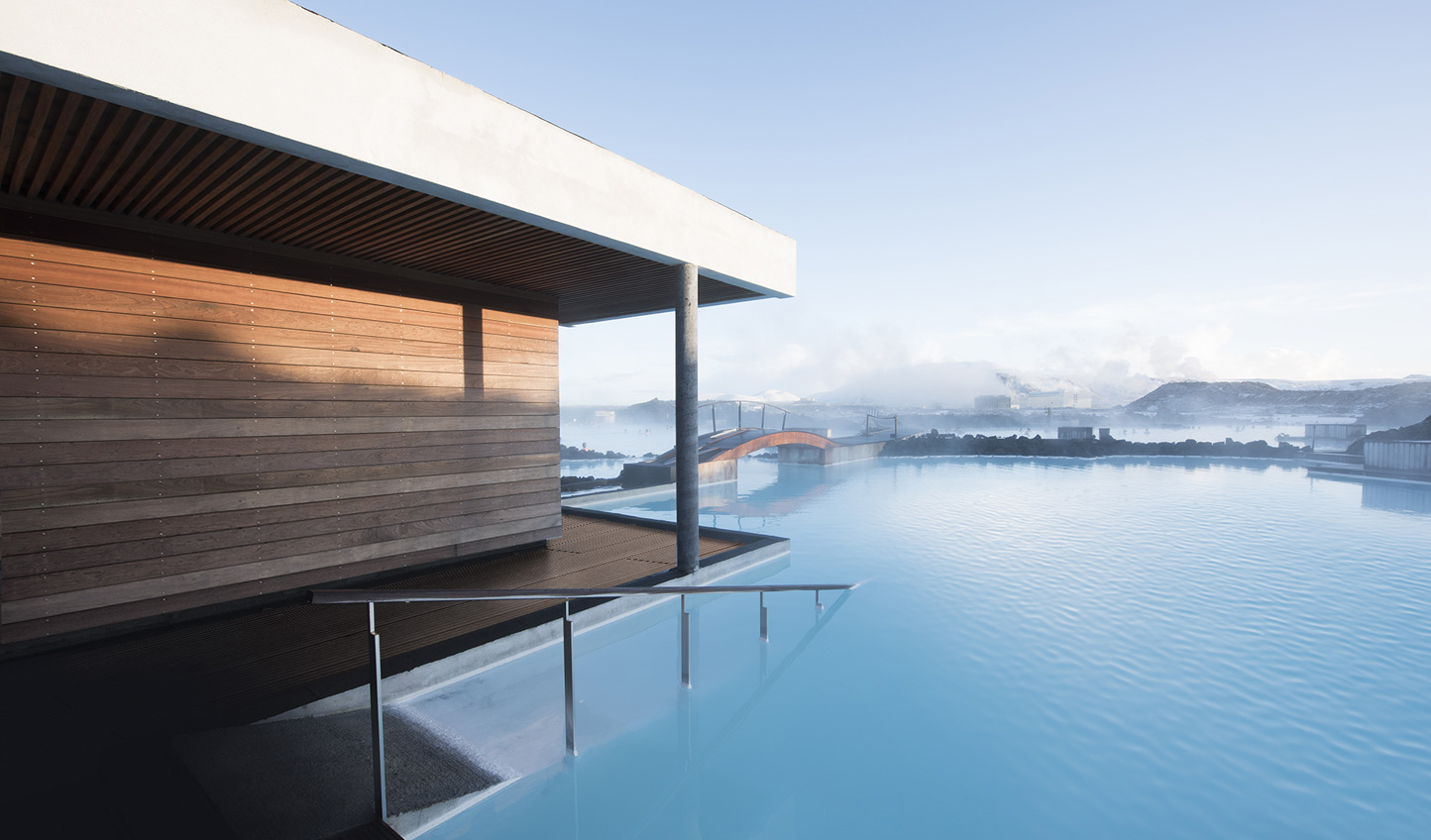 An unbeatable location on the volcanic shores of the Blue Lagoon