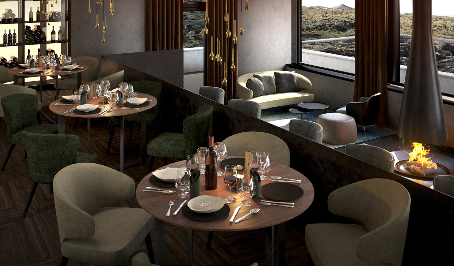 Take a journey through Icelandic cuisine at Moss Restaurant