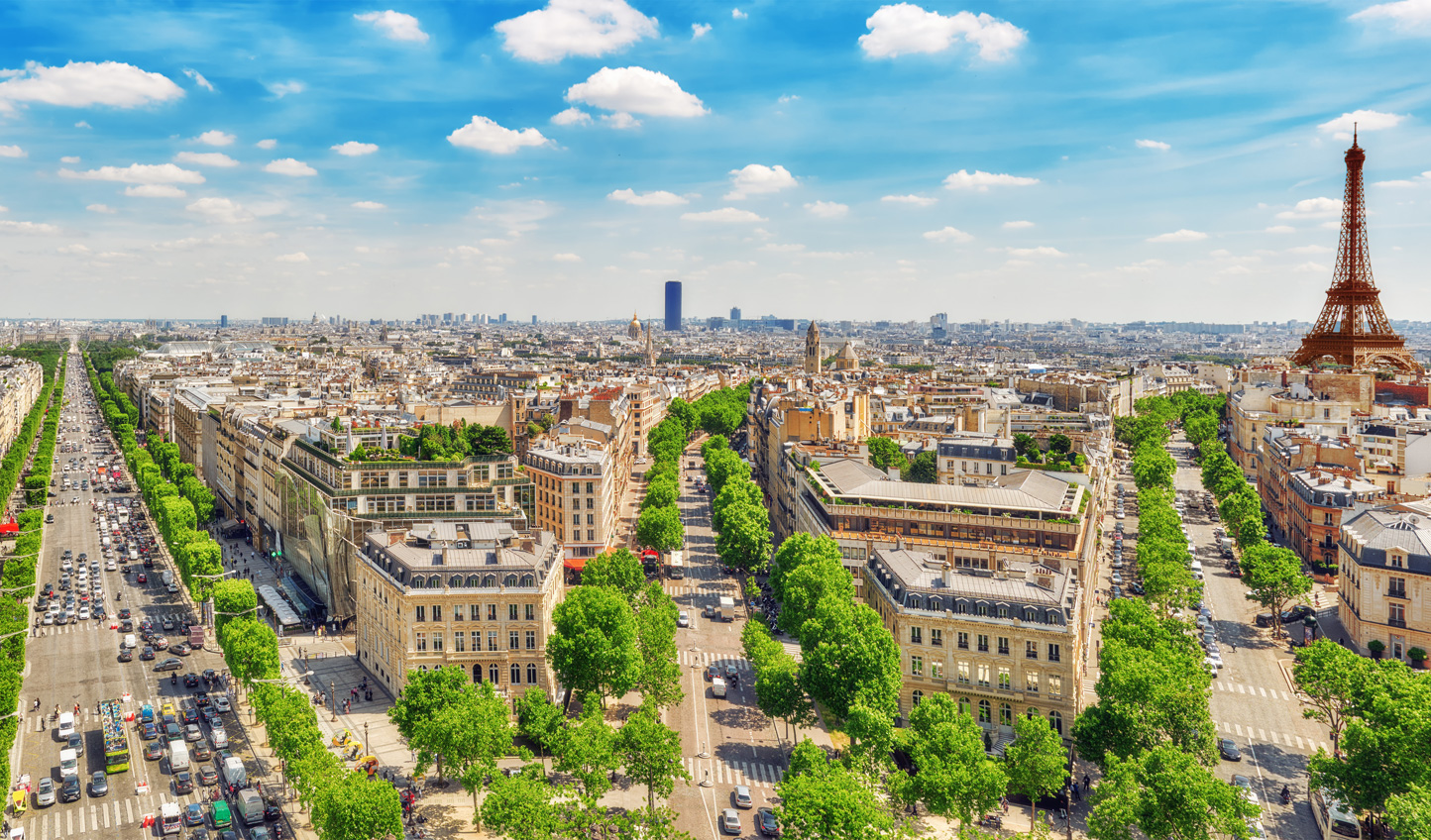 Take the Eurostar and spend a few days wandering through stunning Paris