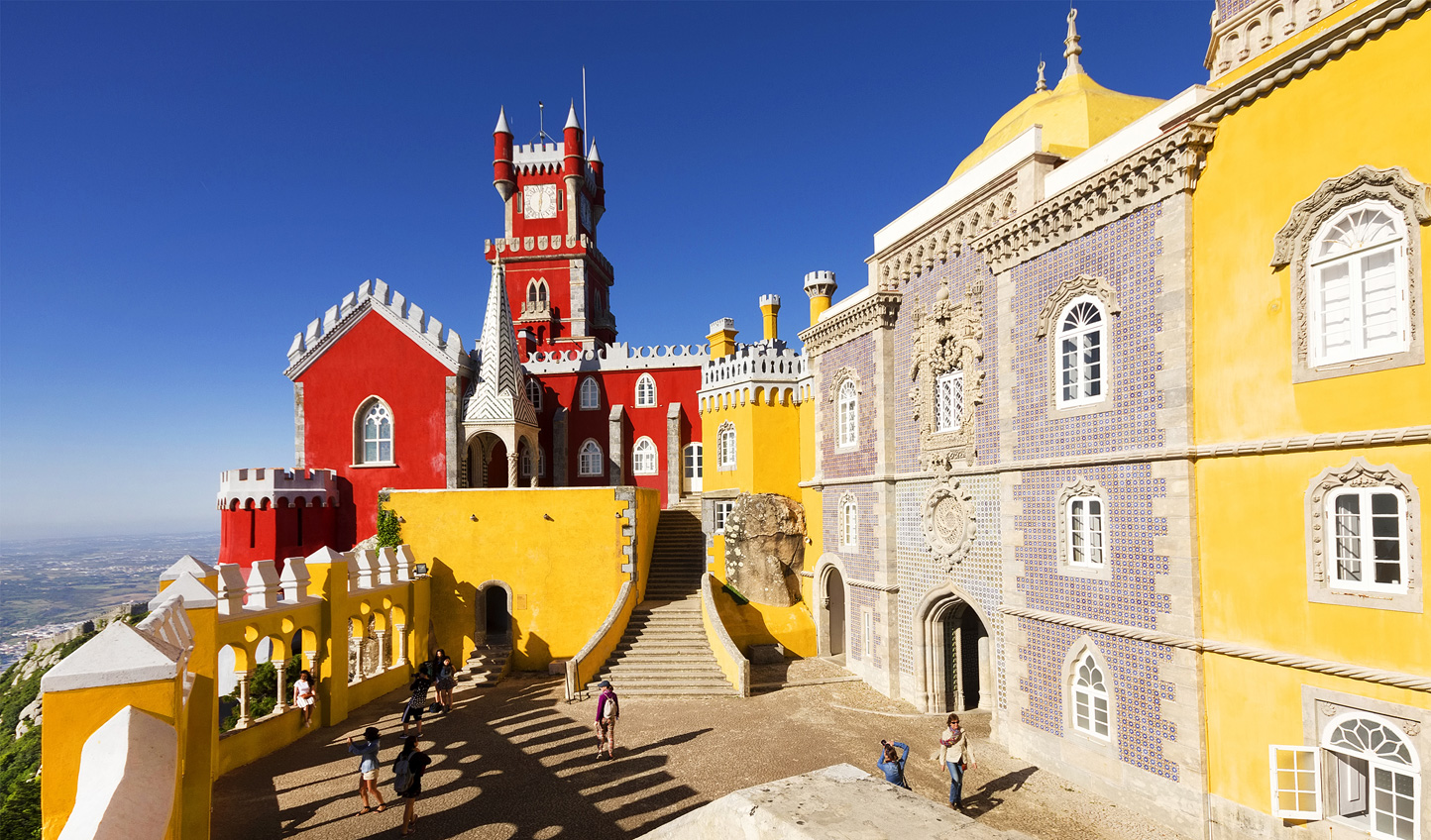 Marvel at whimsical design up at Pena Palace