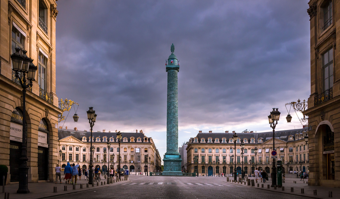 Stay at the Hotel Ritz in an iconic location off Place Vendome
