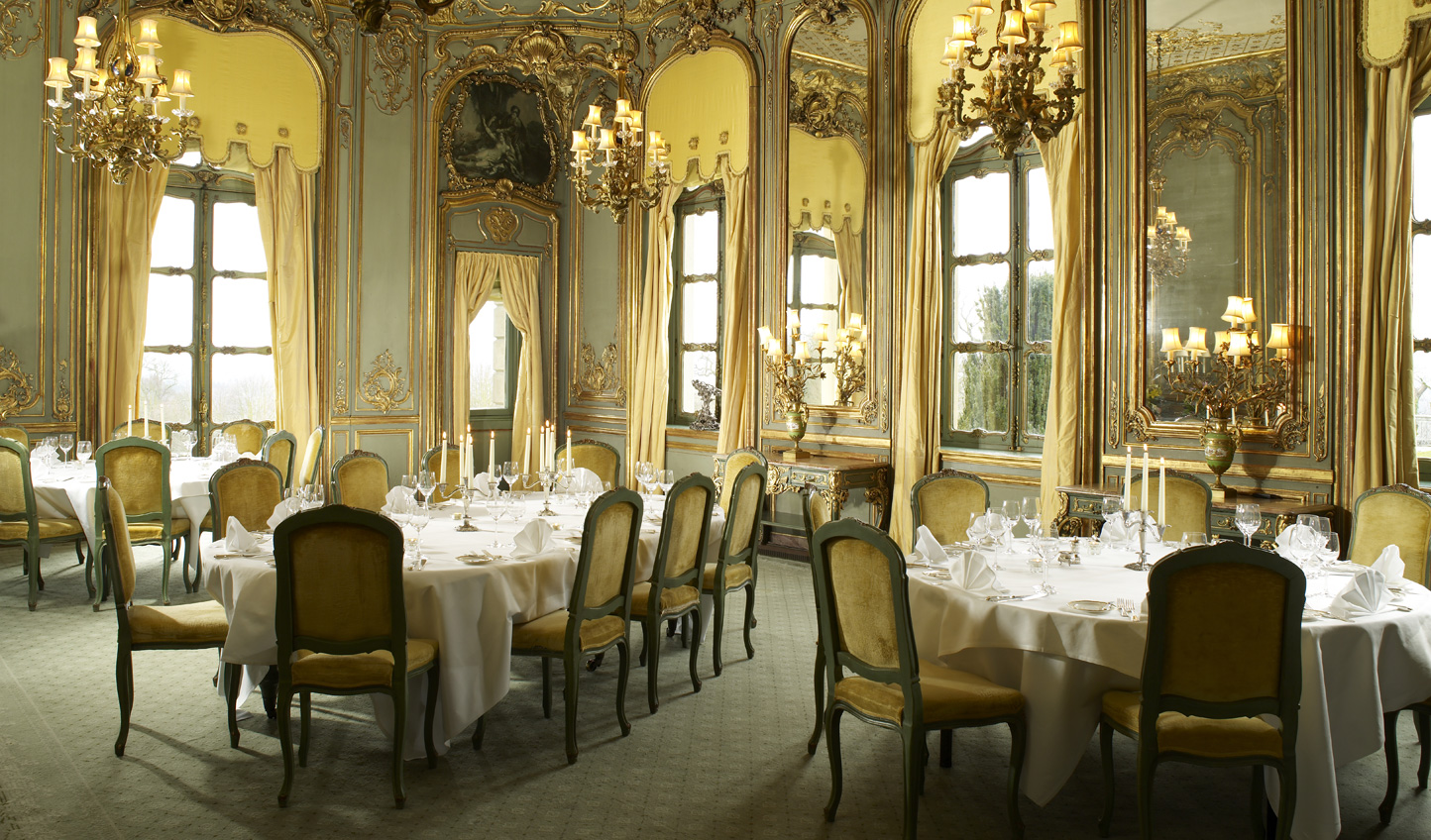 17th century opulence whilst you dine