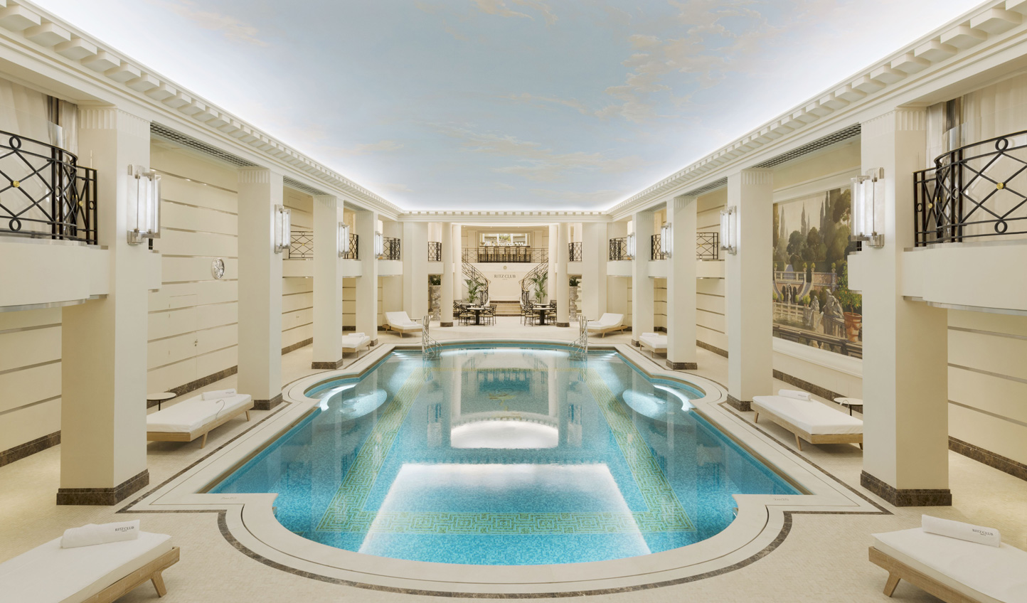 The Ritz Club has a luxurious pool to take a dip in