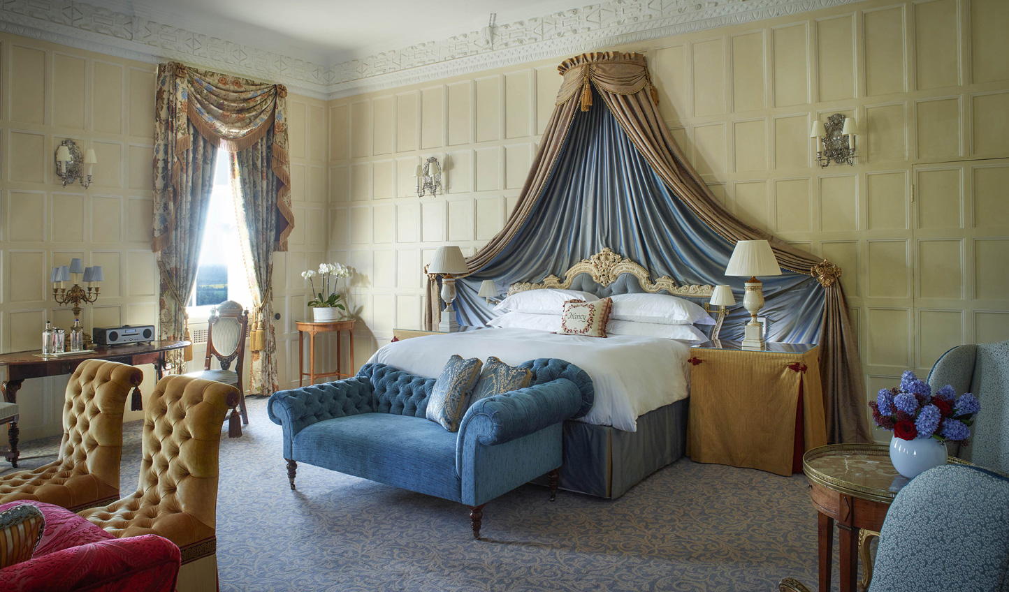 You will surely feel like royalty in this lavish room