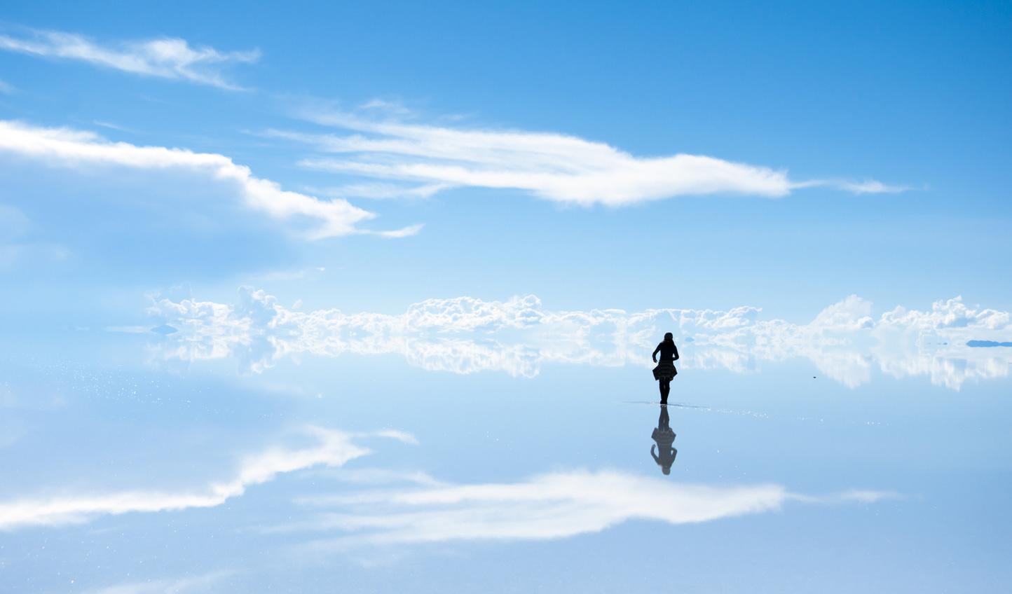 Walk on air at Salar de Uyuni