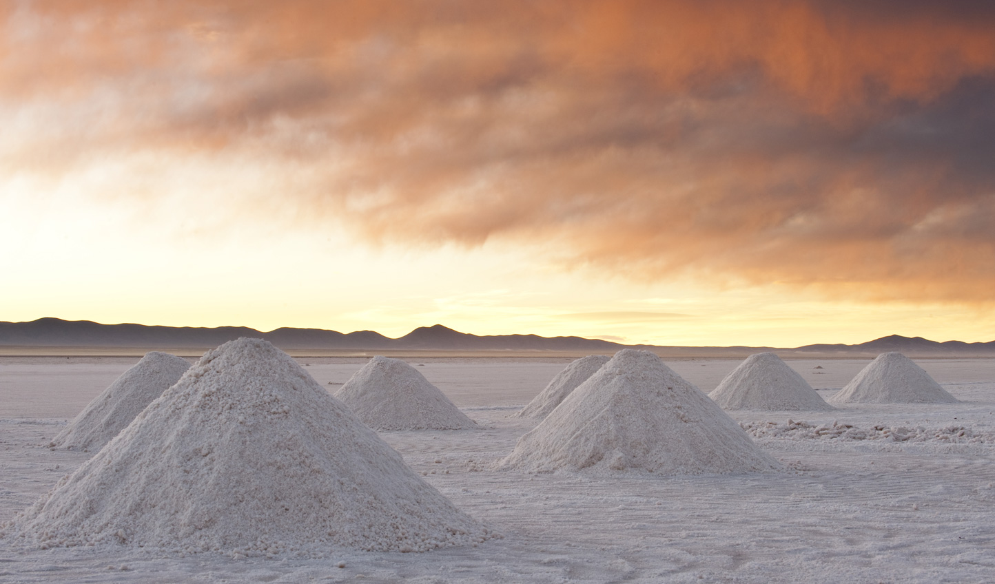Head out to the world's most iconic salt desert at Uyuni