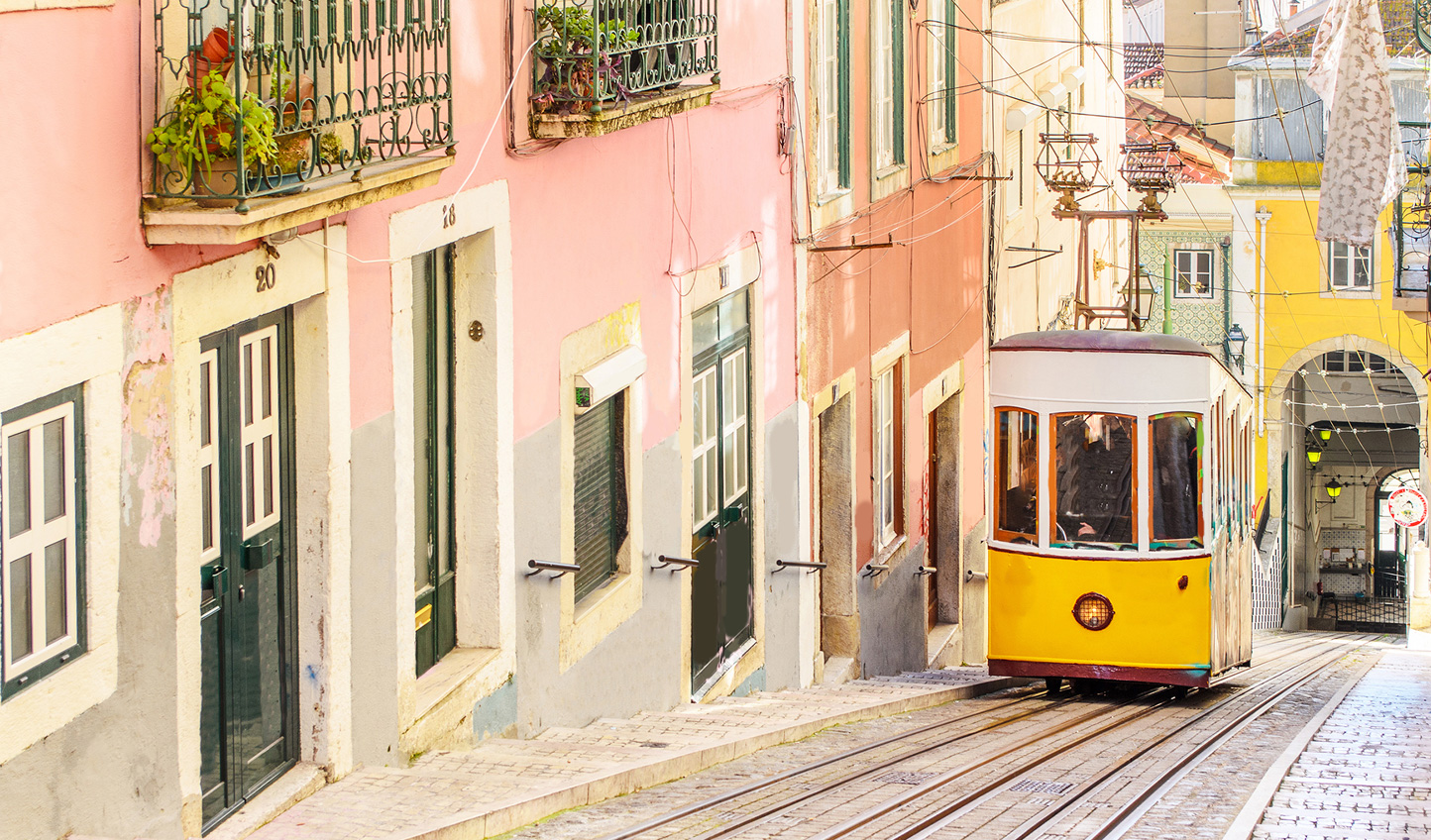 All aboard for a neighbourhood tour of Lisbon