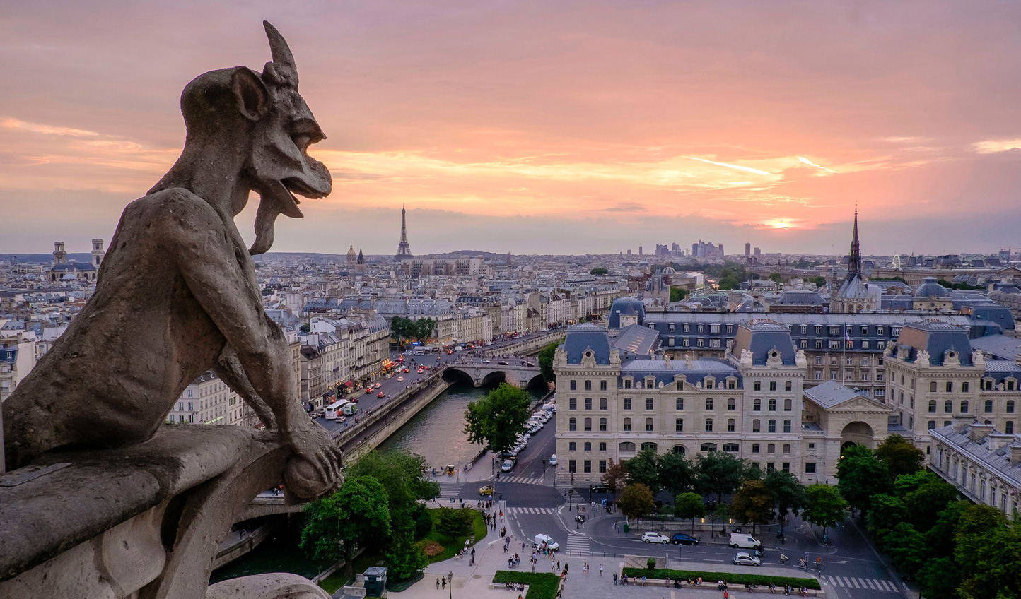 Head to Notre Dame for beautiful views over the city