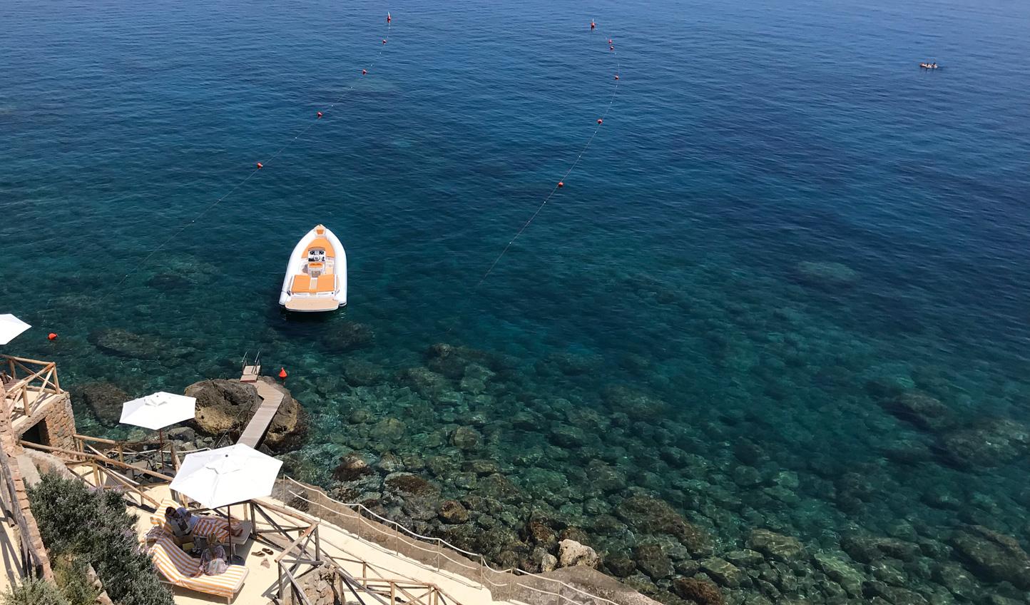 Sail away with Hotel Il Pellicano