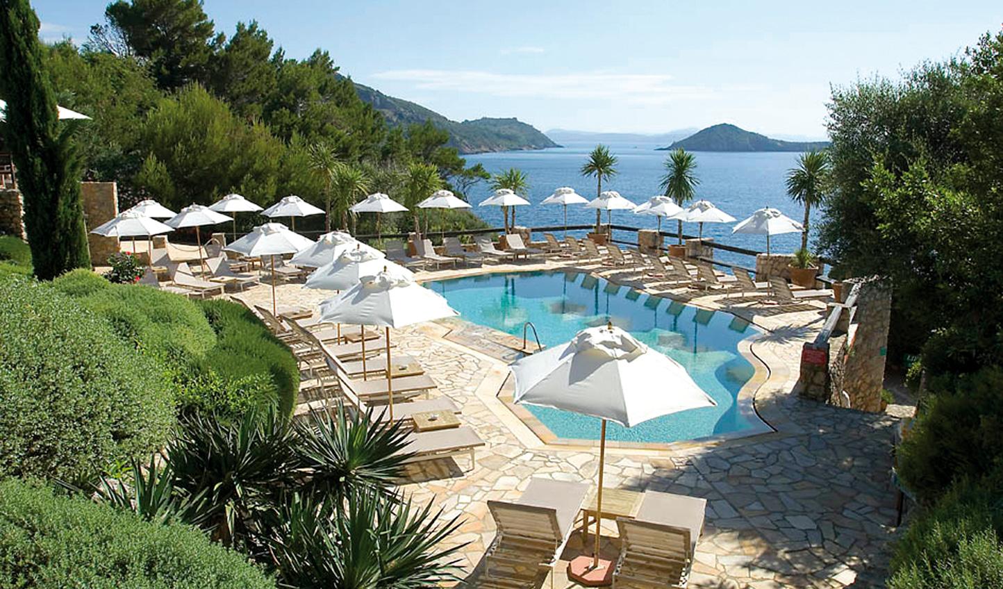 Take a dip off the coast of Porto Ercole at Il Pellicano