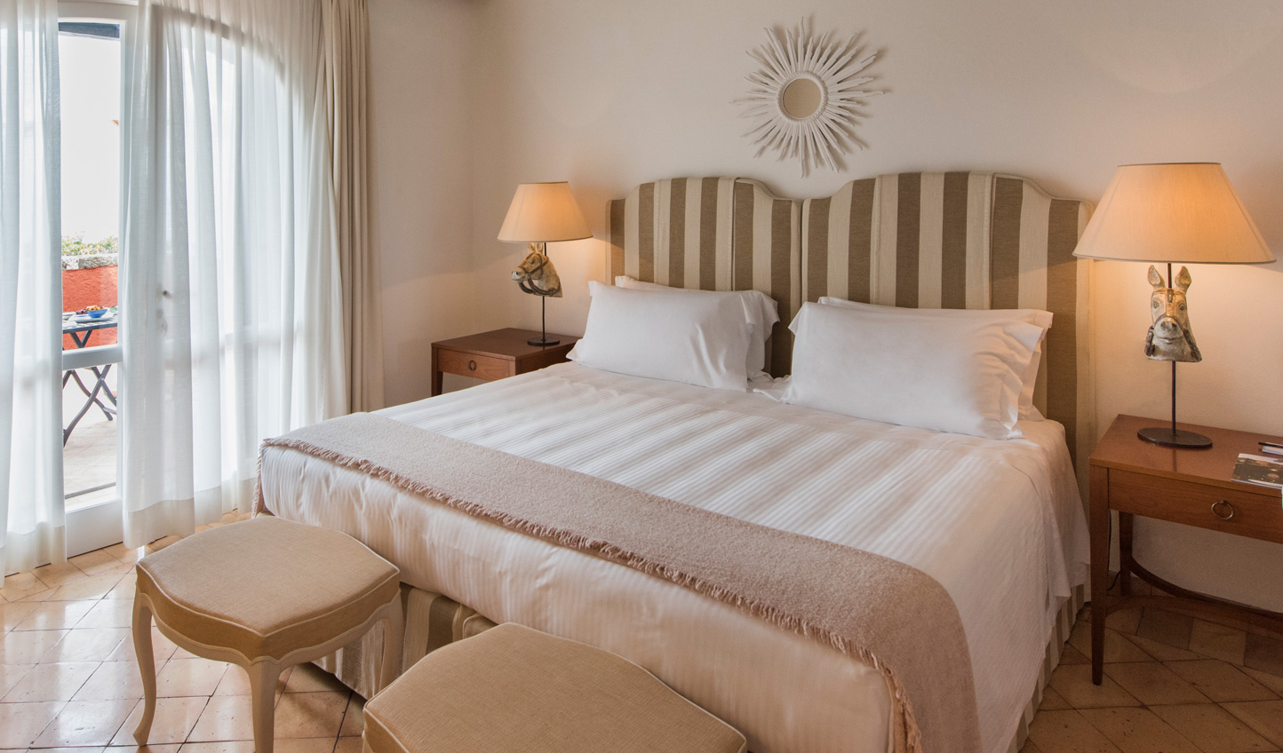 Tradtional Tuscan style creates a homely atmosphere