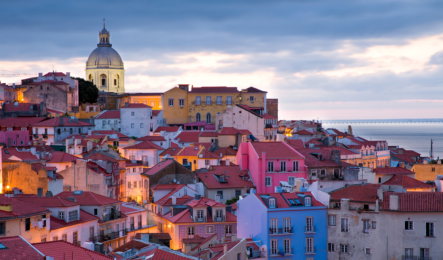 Explore the colourful neighbourhoods of Lisbon