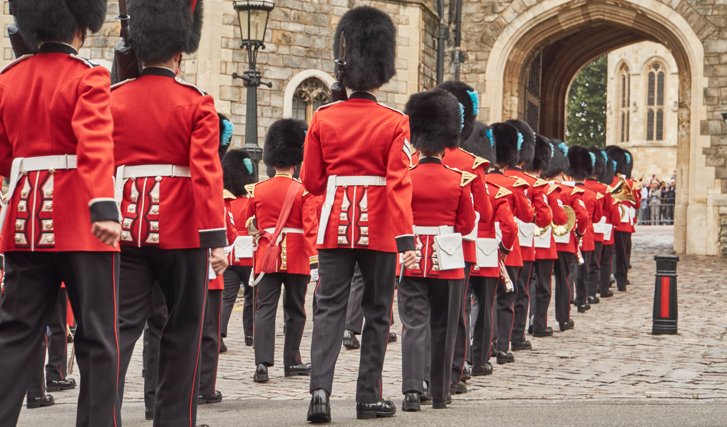 Watch the Changing of the Guard from inside Wellington Barracks and try a bearskin on for yourself