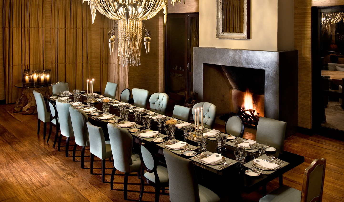 Dine on tailormade menus in the eclectically designed Dining Room