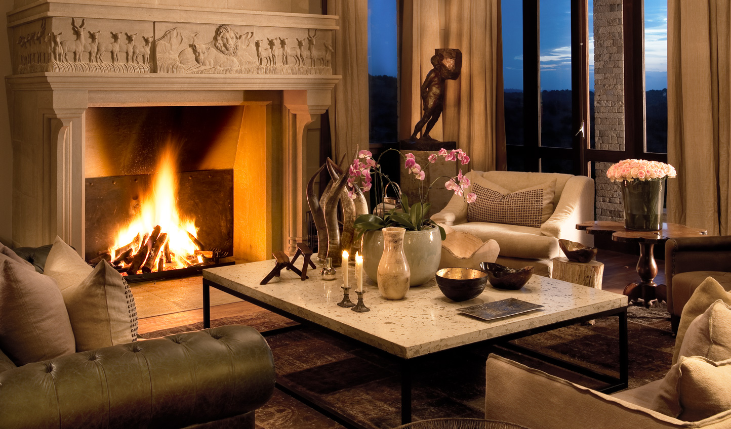 Cosy up by the fire with a nightcap