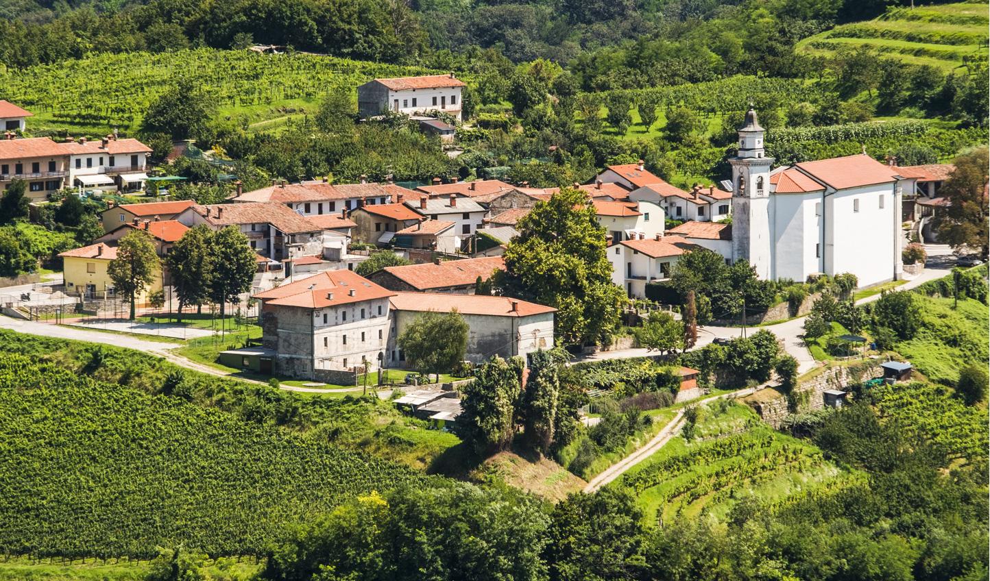 Escape to the countryside at Goriska Brda