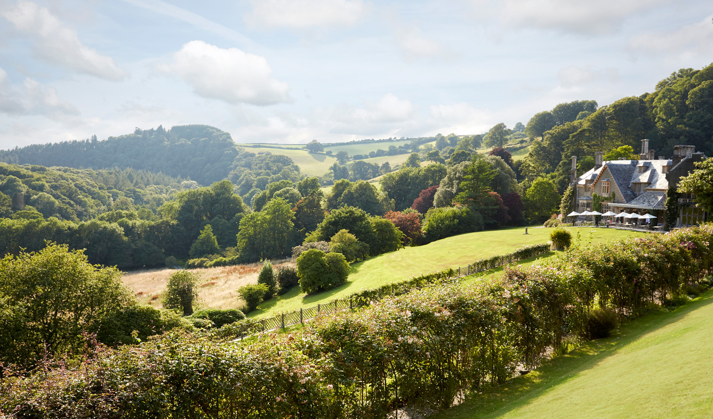 Escape to the Devon countryside at Hotel Endsleigh