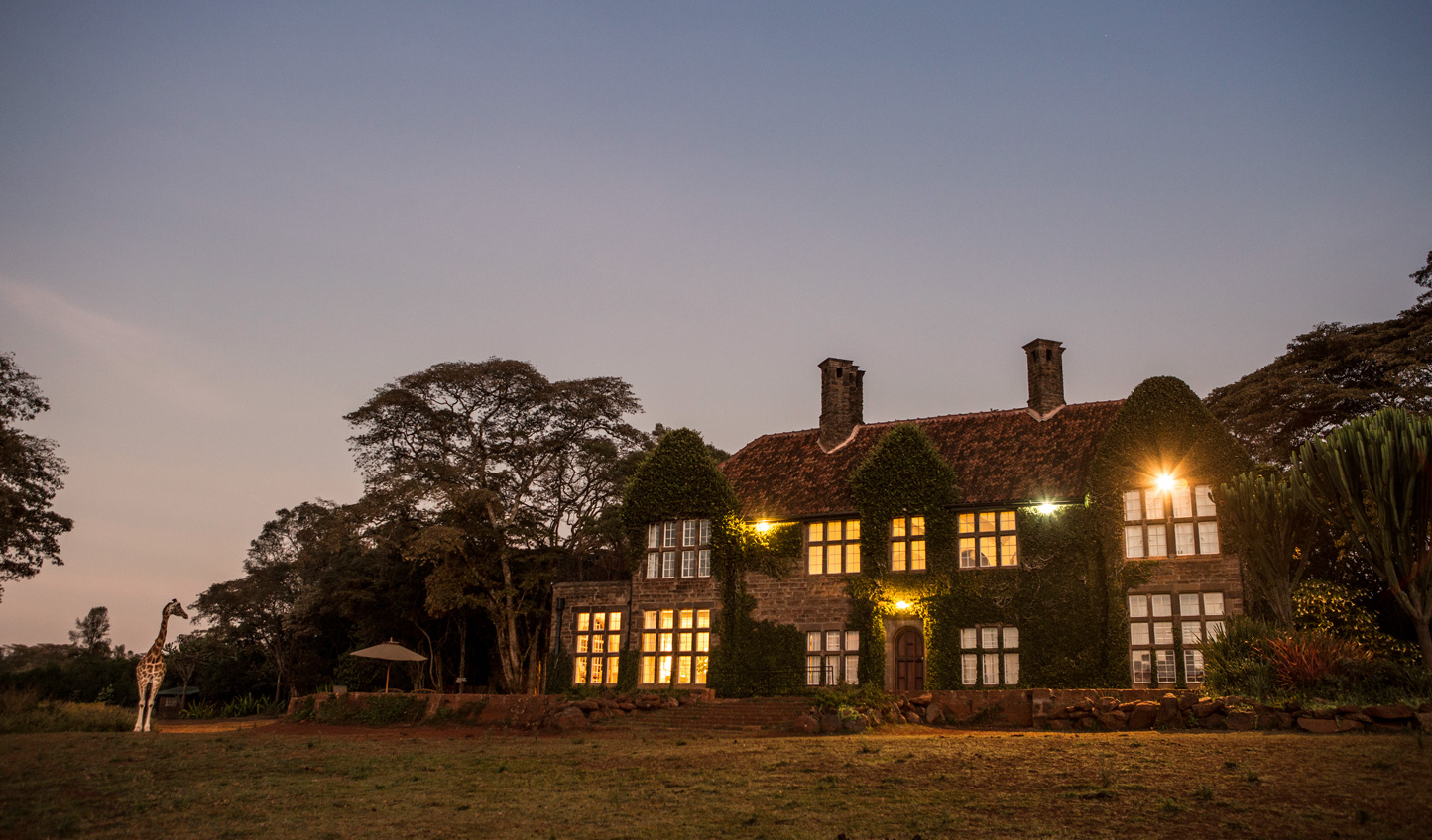 1930s stately living just outside Nairobi