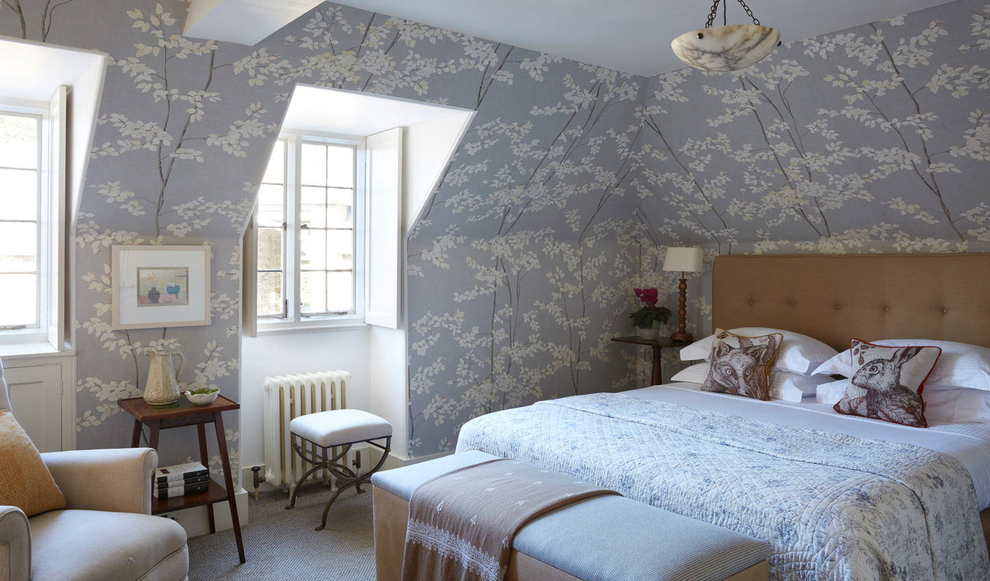 The 18 rooms have everything you neeed for a quintessential country getaway