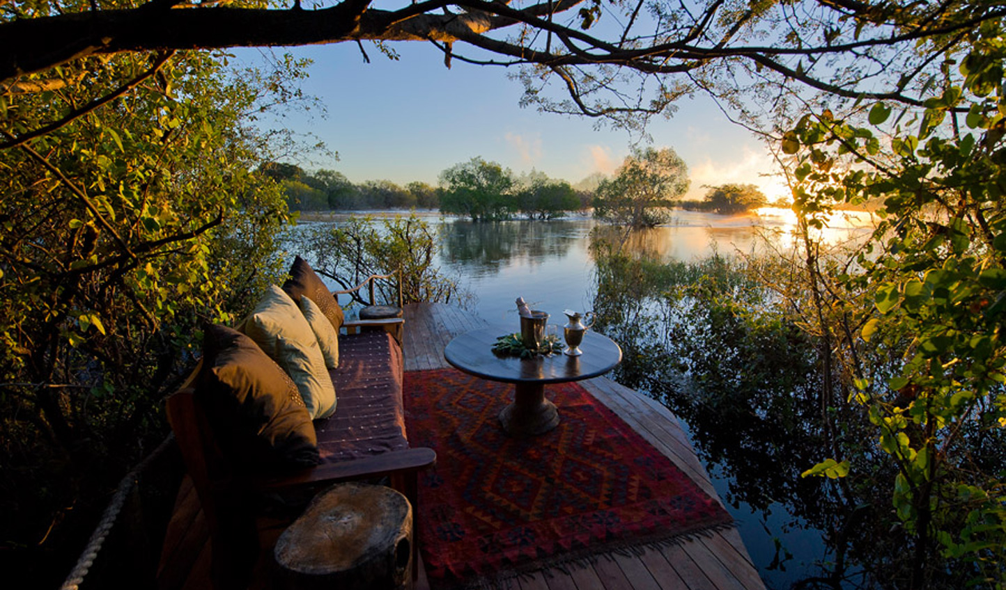 End on a high at the romantic Tongabezi