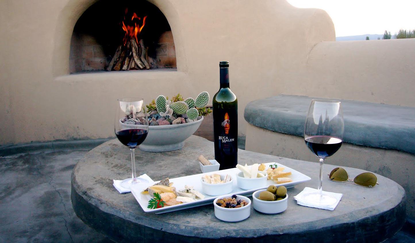 Relax in gourmet luxury