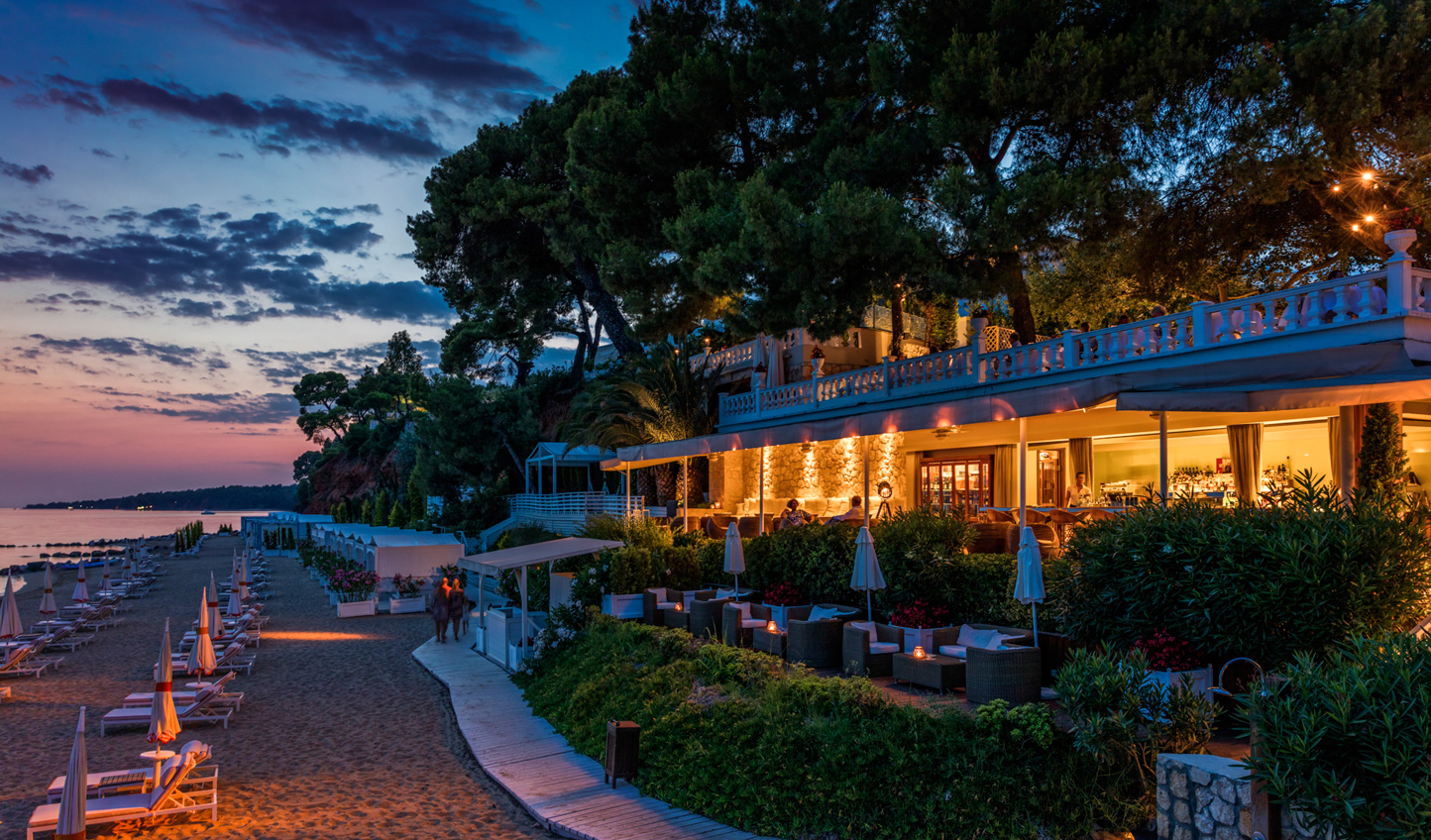 The perfect spot for sundowners