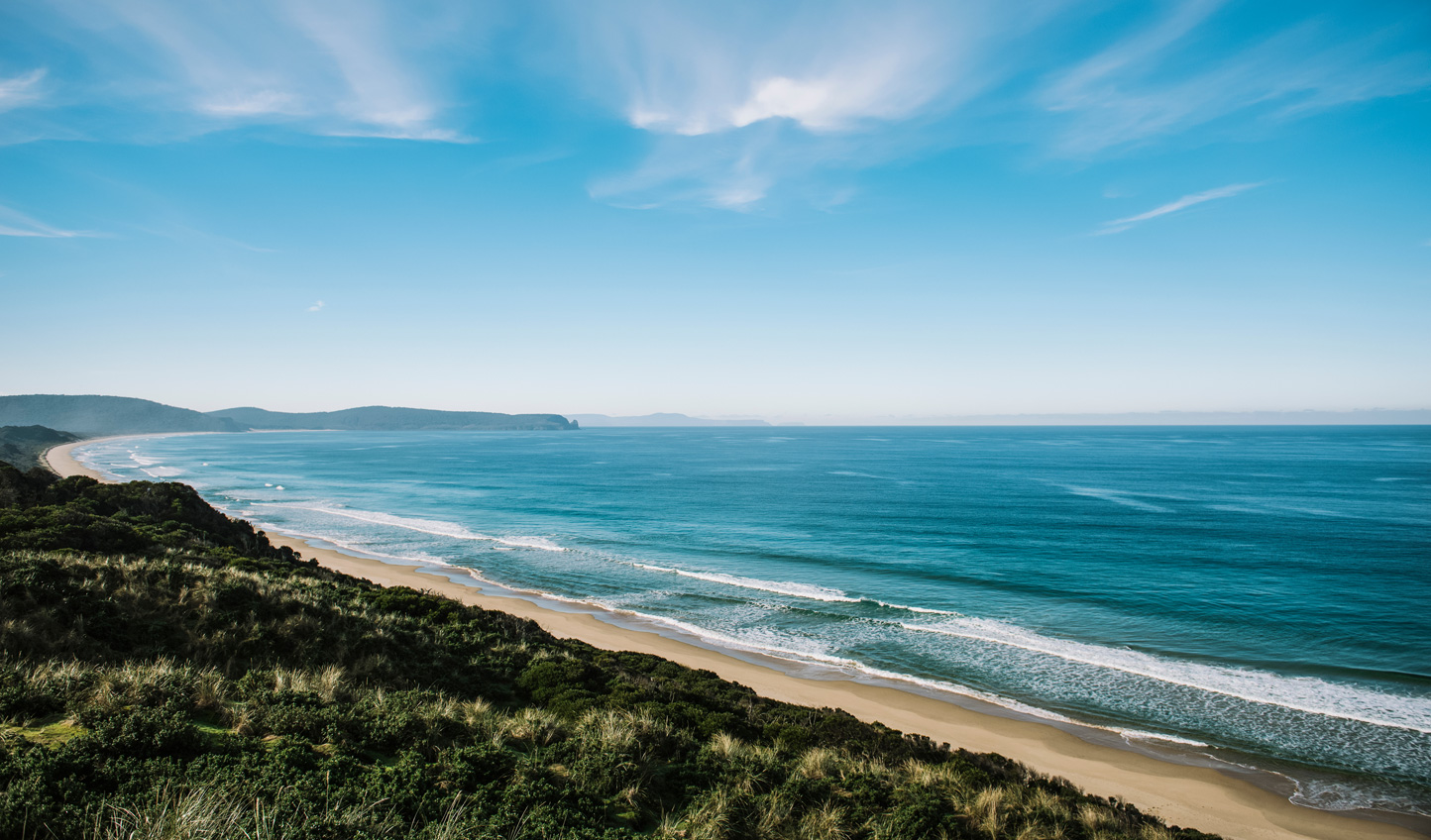 Take in the idyllic beauty of Bruny Island