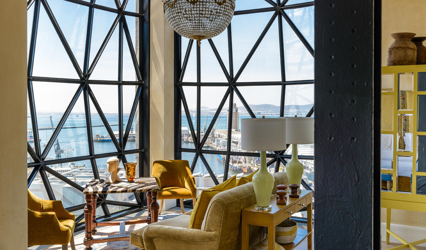 Come evening, bed down at the luxurious Silo Hotel and enjoy views across the Cape
