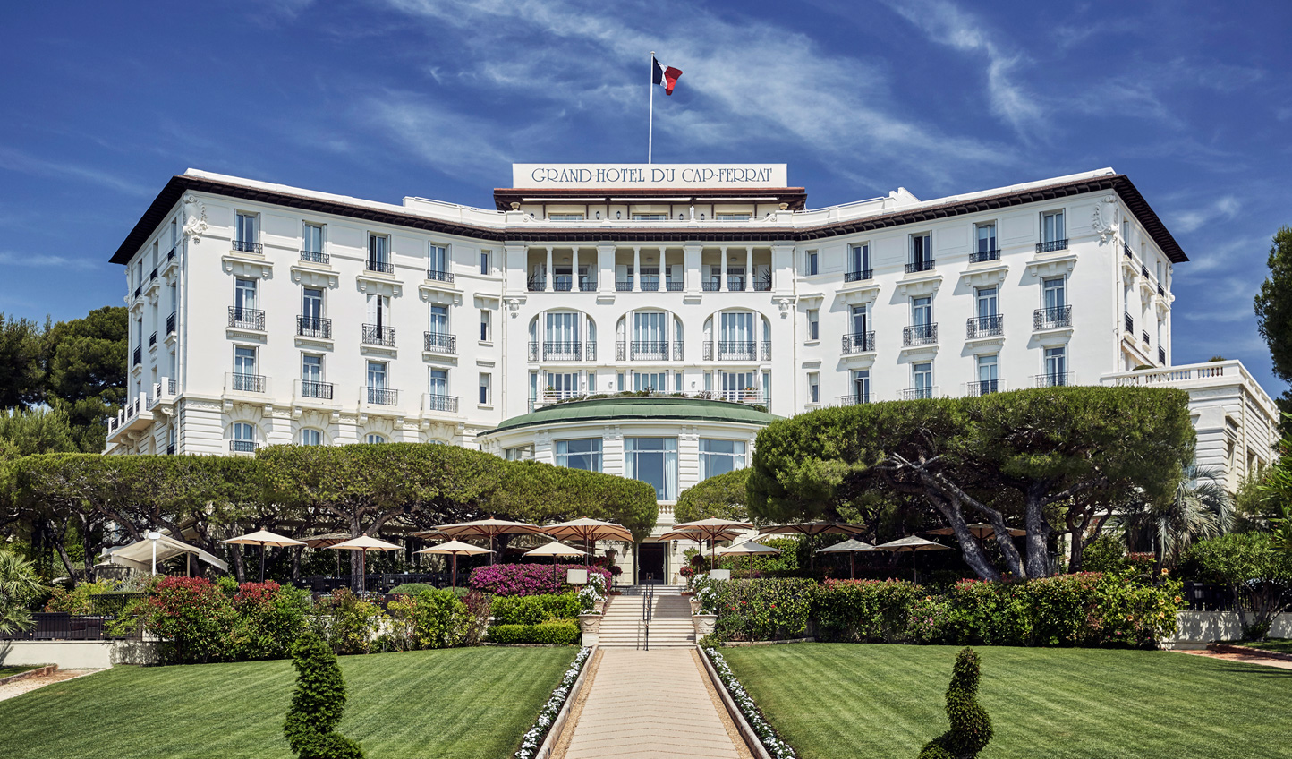 End your trip on a high at the legendary Grand Hôtel du Cap-Ferrat