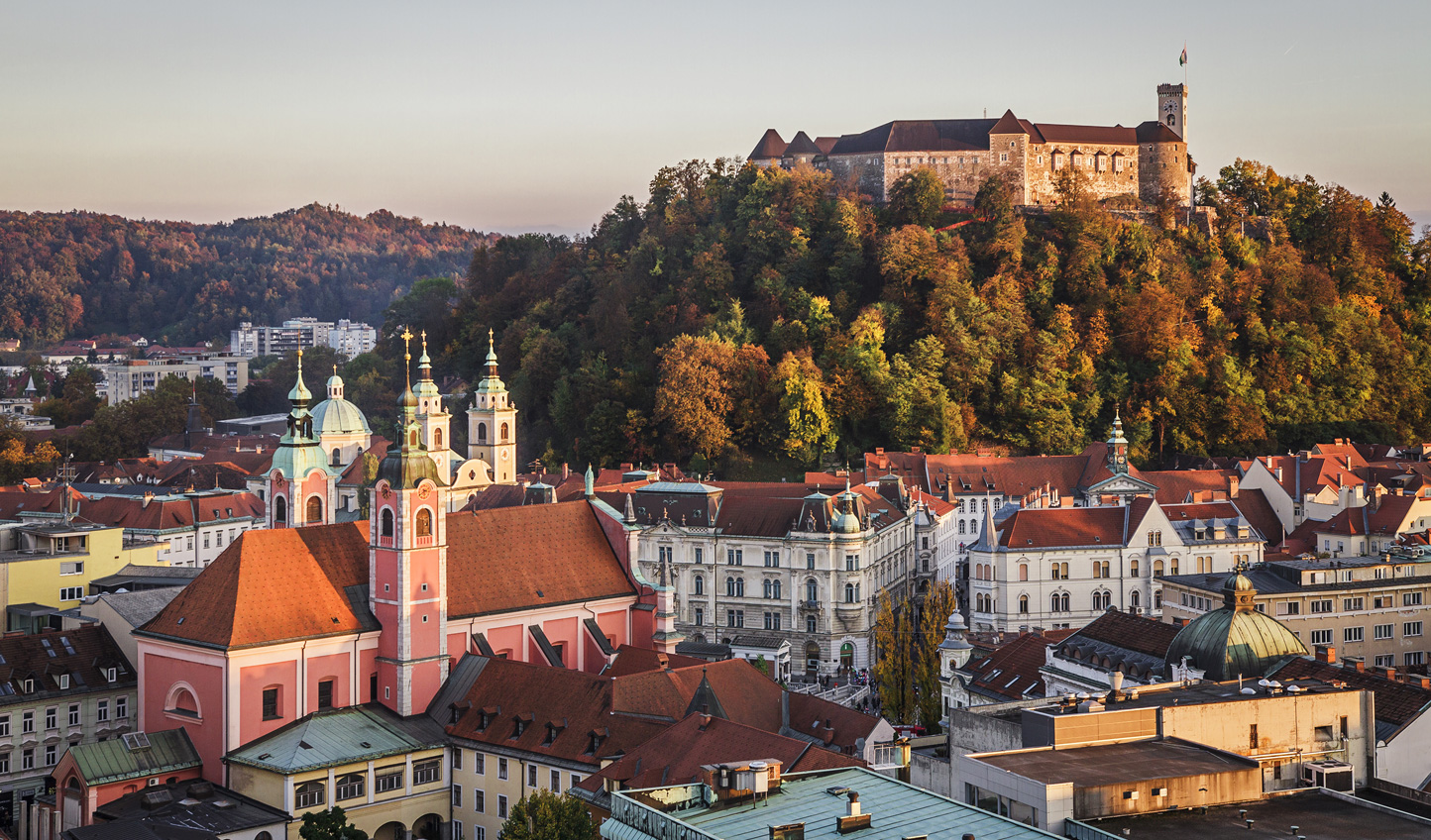 Discover how Ljubljana brings together the many tastes of Slovenia