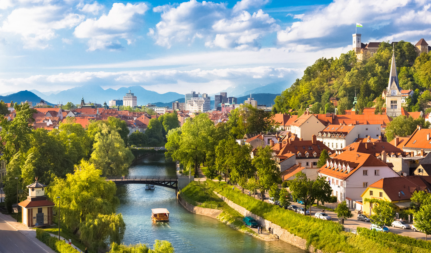Soak up the charm of Ljubljana