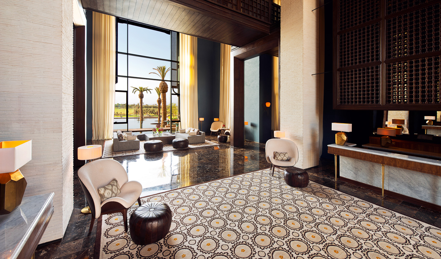 Step into a contemporary but distinctly Moroccan space
