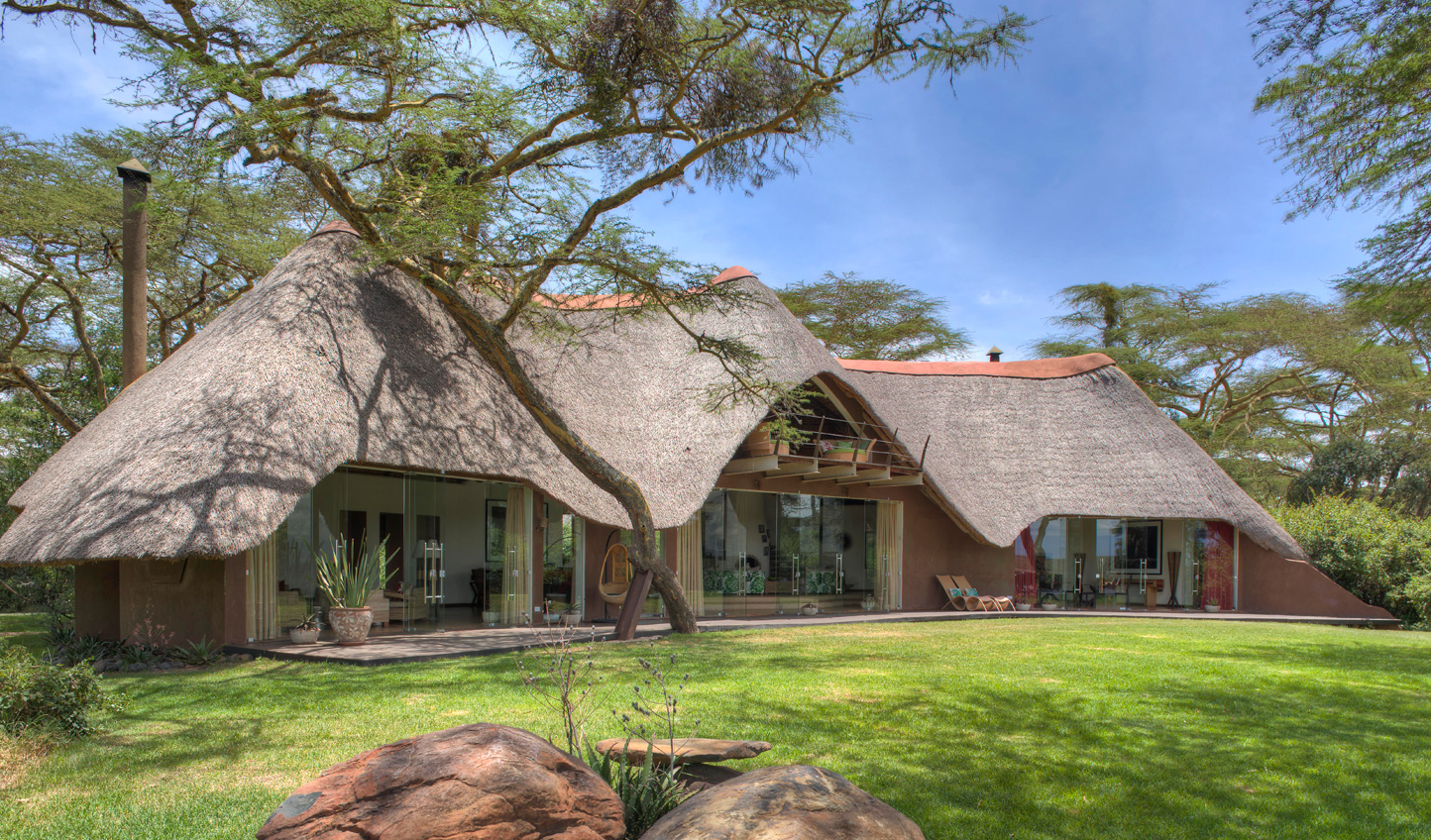 Solio Lodge in the heart of the game reserve