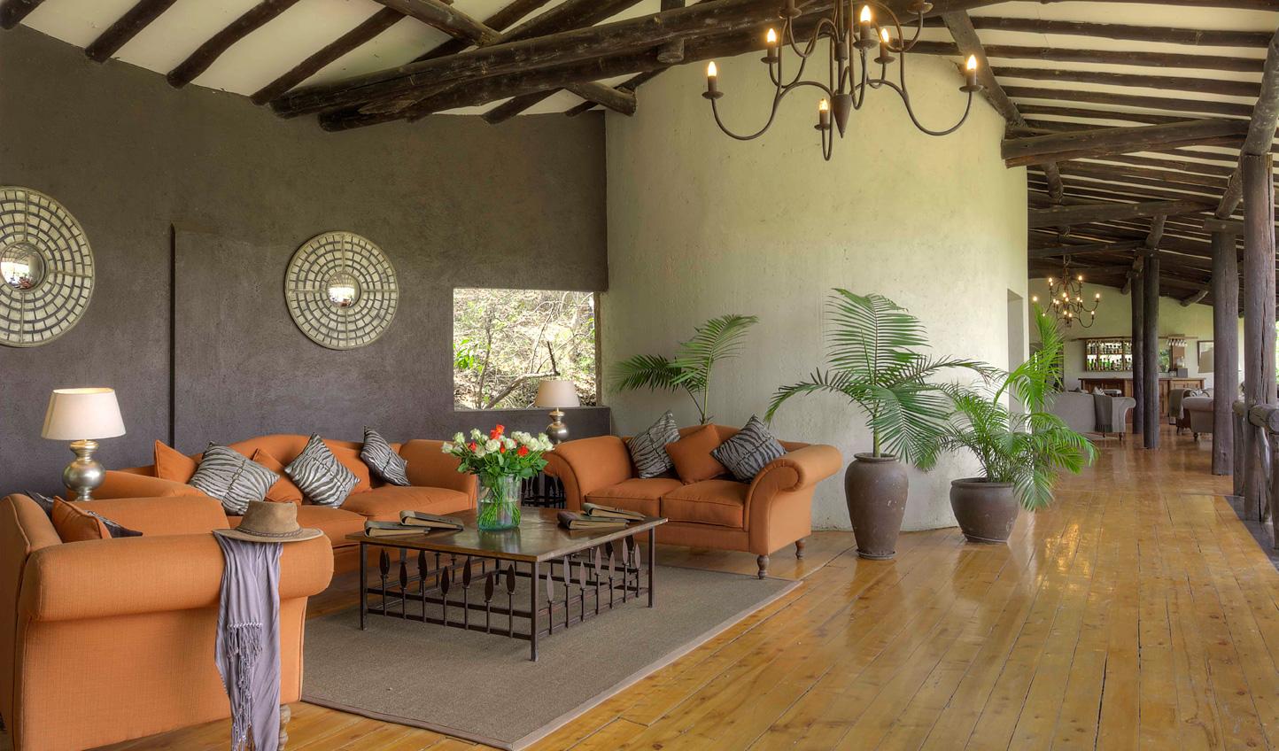 Open plan lounge area at The Emakoko